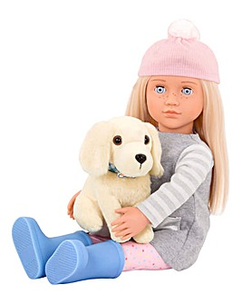 Our Generation Doll Megan & Puppy