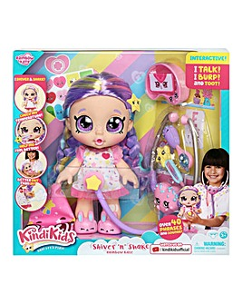 Kindi Kids Shiver & Shake Rainbow Kate Doll