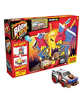 Boom City Racer Fireworks Factory Playset