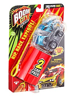 Boom City Racer 2 Pack
