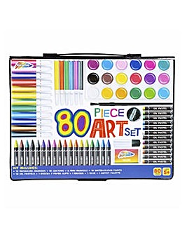 80 Piece Art Set