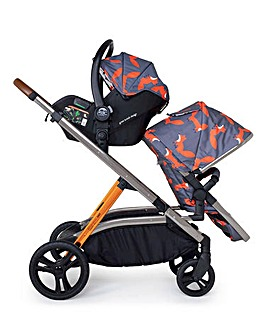 Cosatto Wow XL Pram & Pushchair - Charcoal Mister Fox