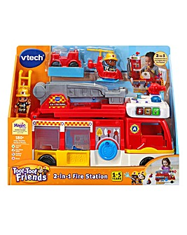 Vtech Toot-Toot 2-in-1 Fire Station