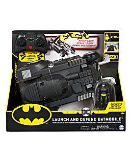 DC Batman RC Launch & Defend Batmobile