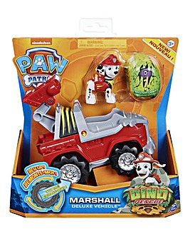 Paw Patrol Dino Rescue Deluxe Vehicles Marshall