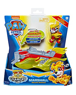 Paw Patrol Mighty Pups Charged Up Vehicle Marshall