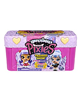 Hatchimals Colleggtibles Mini Pixies Fashion Show Castle 8pk