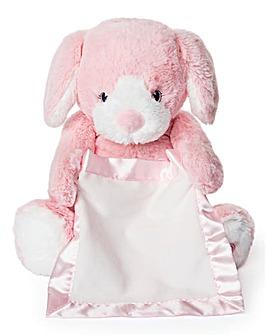 Gund Peek A Boo Puppy-Pink