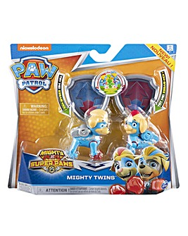 Paw Patrol Mighty Twin Figure Gift Pack