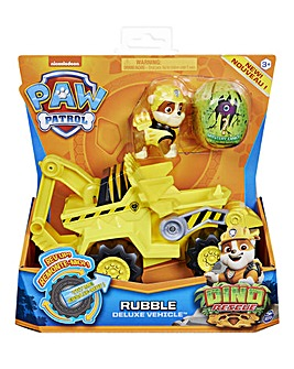 Paw Patrol Dino Rescue Deluxe Vehicles Rubble