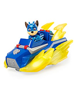 Paw Patrol Mighty Pups Chase's Charged Up Deluxe Vehicle
