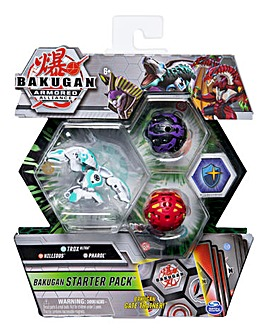 Bakugan Starter Pack - Trox, Sphinx, Nillious