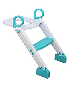 Dreambaby Step-Up Toilet Topper - Aqua/White