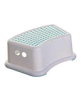 Dreambaby Step Stool - Aqua/White