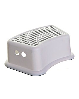 Dreambaby Step Stool - Grey/White