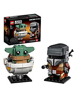 LEGO Brickheadz The Mandalorian & The Child - 75317