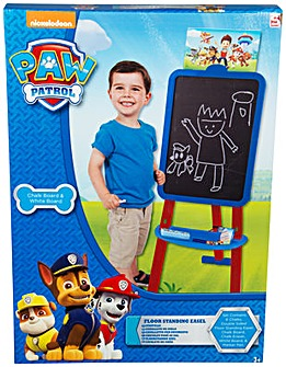 Paw Patrol Boys Double Side Floor Easel