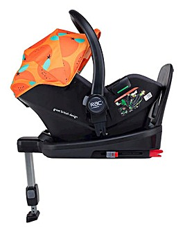 Cosatto Port i-Size RAC Group 0+ Car Seat - So Orangey