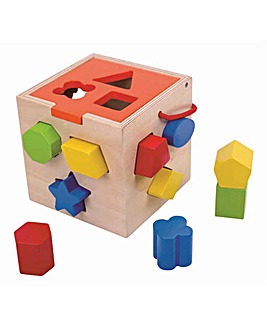 Tooky Toy Wooden Shape Sorter