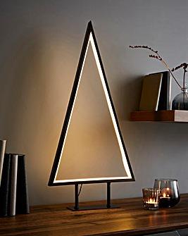 Metal Frame Neon Tree Light