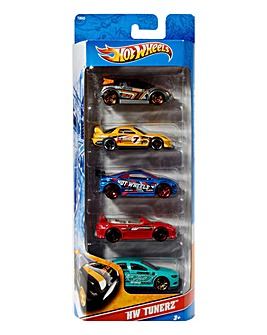 Hot Wheels 5 Car Giftpack Assorted