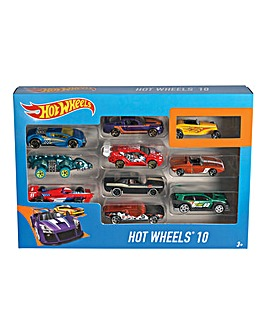 Hot Wheels 10 Car Giftpack Assorted