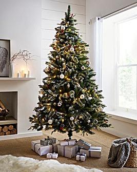 Pre-lit New Jersey Spruce Tree