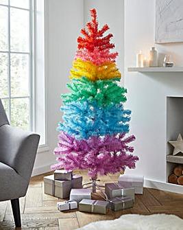 Ombre Rainbow Christmas Tree