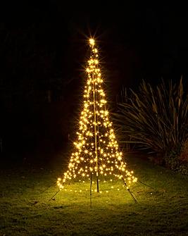 Starry Nights 2 Metre Outdoor Christmas Tree