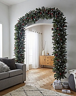 New Jersey Spruce 8ft Artificial Tree Arch