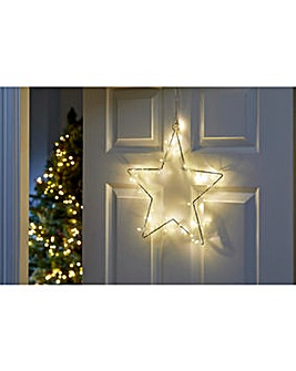 Sparkle Star Light-up Indoor Decoration