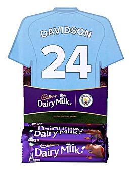 Cadburys Shirt Favourites Man City