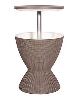 Adjustable Height Ice Bucket Table