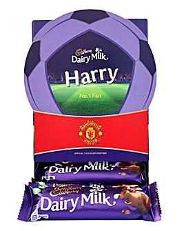 Cadburys Personalised Man U Football