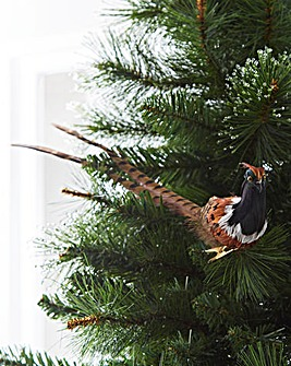 38cm Pheasant Bird Clip On Decoration