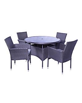 Atlanta 4 Seater Dining Set