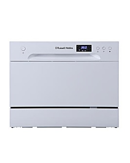 Russell Hobbs RHTTDW6W Table Top Dishwasher White