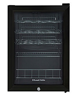 Russell Hobbs RHGWC4B-LCK Wine & Drinks Cooler Lockable Black
