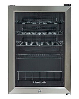 Russell Hobbs RHGWC4SS-LCK Wine & Drinks Cooler Lockable Stainless Steel