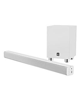 Majority K2 Soundbar & Wireless Subwoofer White