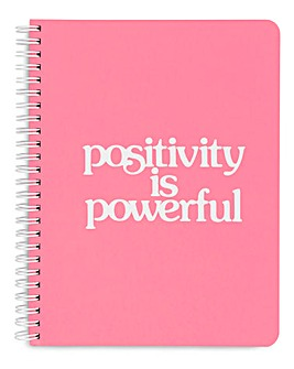 Ban.do Positivity is Powerful Notebook