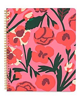 Ban.do Las Flores Large Notebook