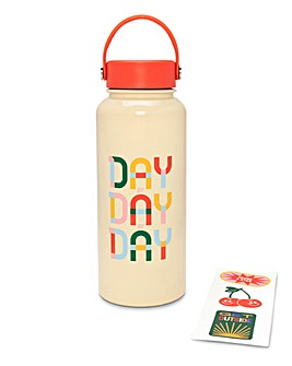 Ban.do Water Bottle With Stickers