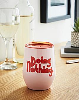 Ban.do Doing Nothing Wine Tumbler