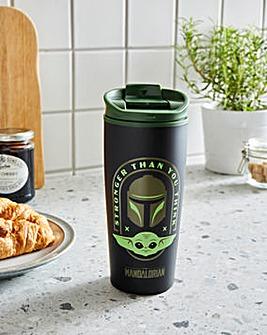 Star Wars Mandalorian Travel Mug