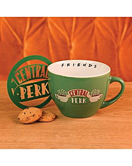 Friends Central Perk Cappucino Mug Set