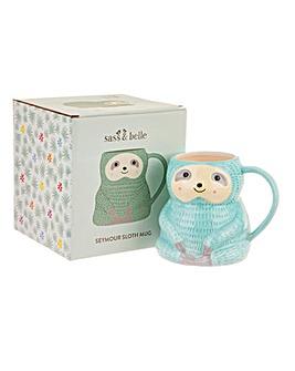 Sass & Belle Seymour Sloth Mug
