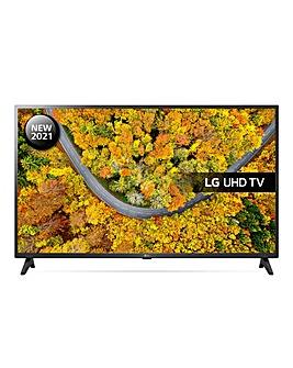 """LG 43UP75006LF 43"""" Ultra HD 4K Smart TV"""