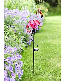 Smart Garden Flamingo Solar Stake Light