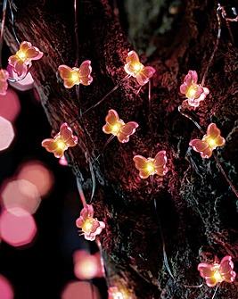 Smart Garden Butterfly Firefly String Lights